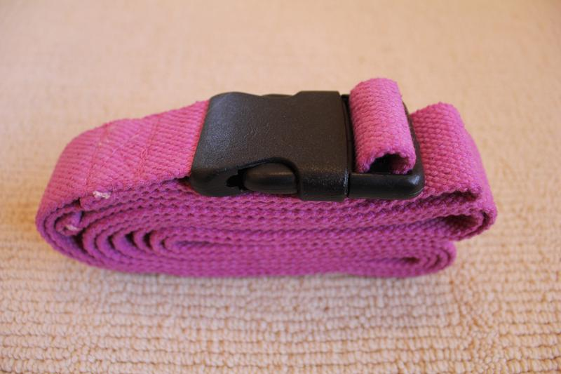 Breast Cancer Yoga Strap