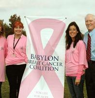 Breast Cancer Yoga Donation To Babylon Breast Cancer Coalition