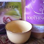 Organic Calm Tea & Breathing CD For Breast Cancer Gift Set