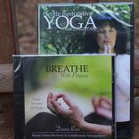 Breast Cancer Yoga Media Bundle Includes DVD & CD